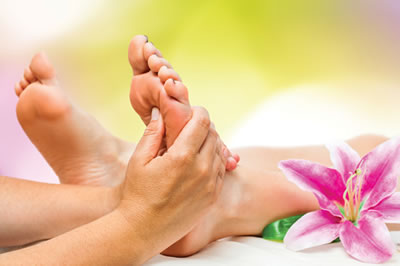 Reflexology is a gentle, holistic therapy based on the principle that there are reflexes in the feet, hands and ears that correspond to every organ, gland and the entire body - Orion Therapies